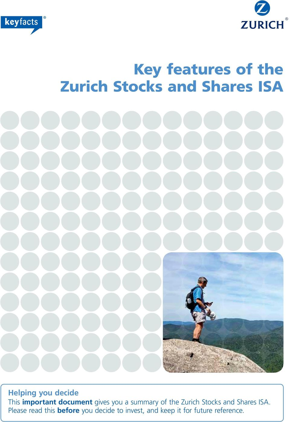 of the Zurich Stocks and Shares ISA.