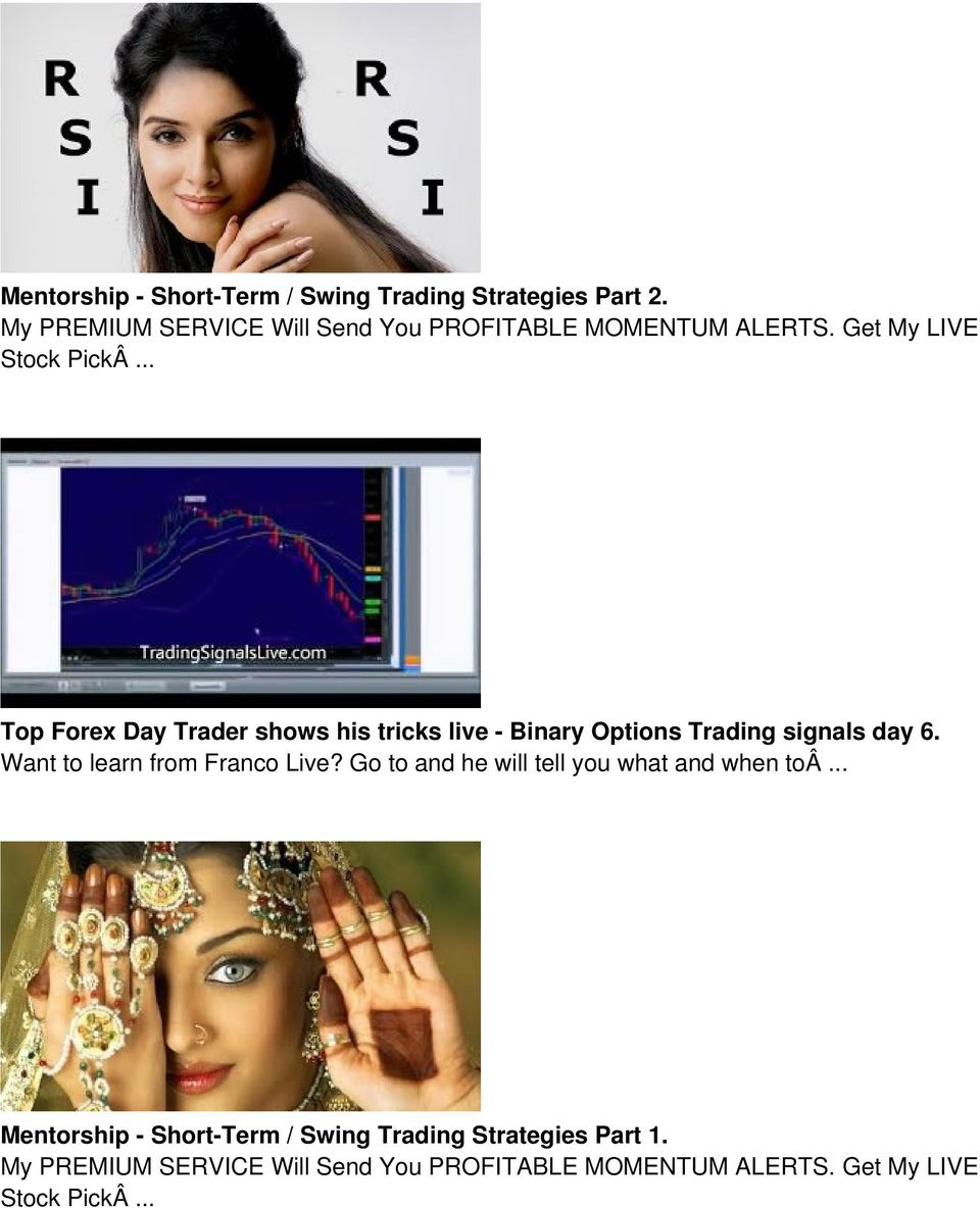 .. Top Forex Day Trader shows his tricks live - Binary Options Trading signals day 6.