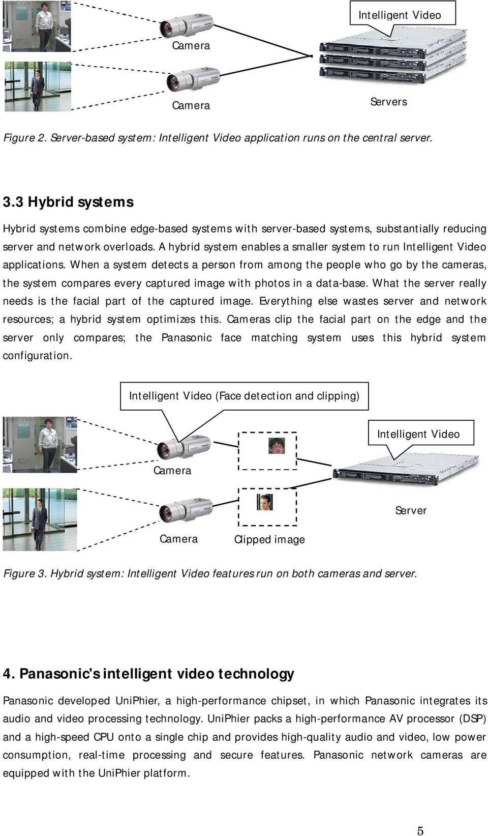 A hybrid system enables a smaller system to run Intelligent Video applications.