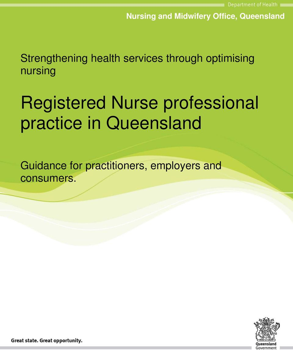 nursing Registered Nurse professional practice in