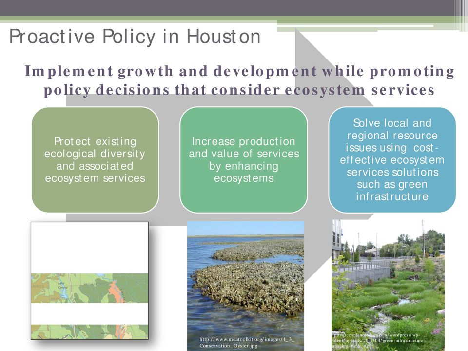 local and regional resource issues using costeffective ecosystem services solutions such as green infrastructure http://www.mcatoolkit.