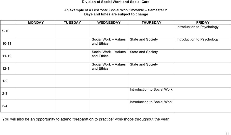 to Psychology 11-12 Social Work Values and Ethics State and Society 12-1 Social Work Values and Ethics State and Society 1-2 2-3 Introduction