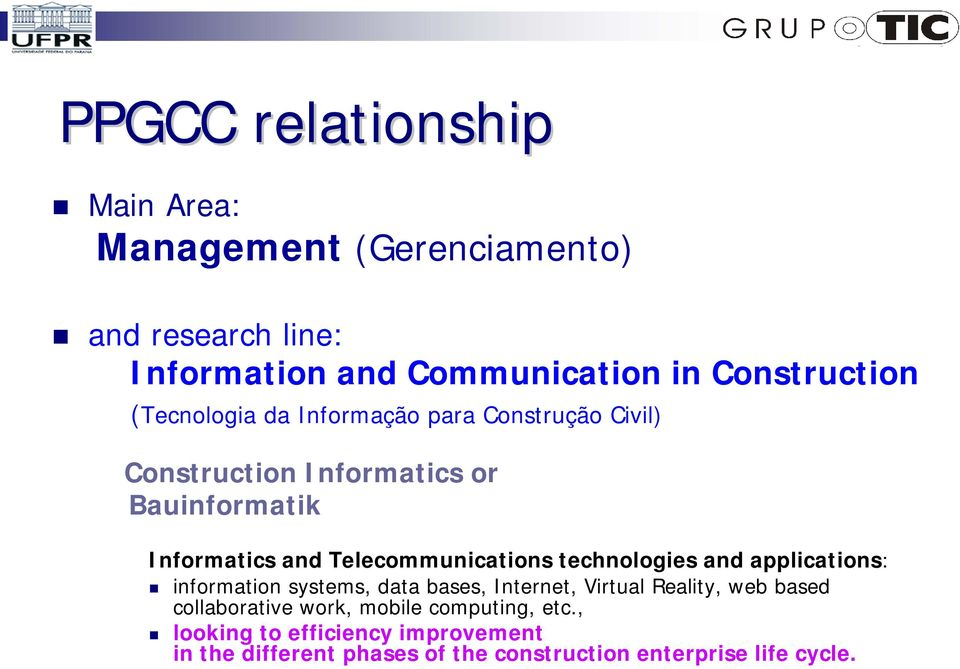 Telecommunications technologies and applications: information systems, data bases, Internet, Virtual Reality, web based