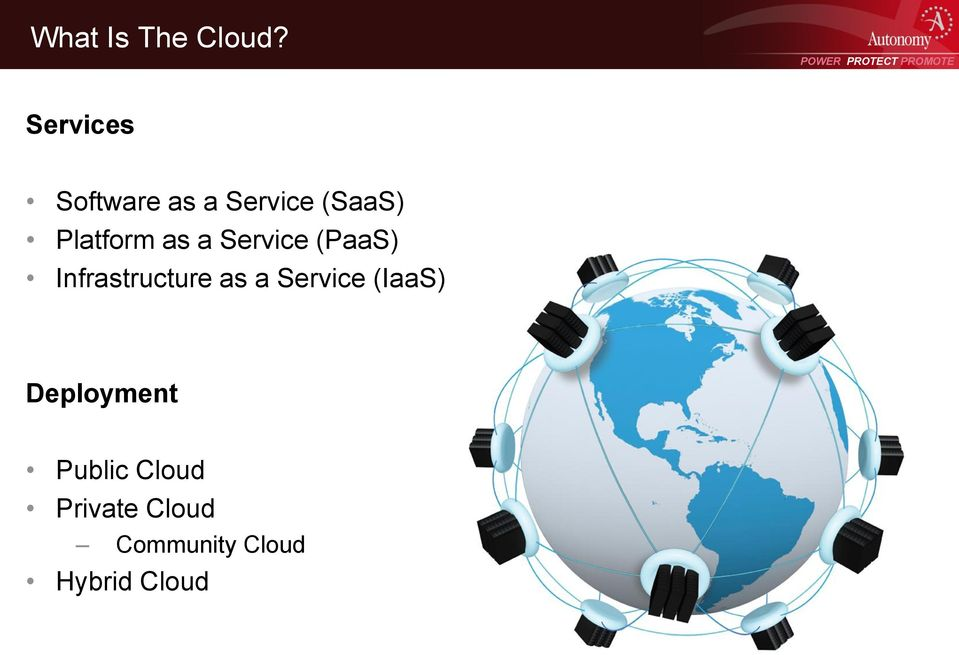 as a Service (PaaS) Infrastructure as a