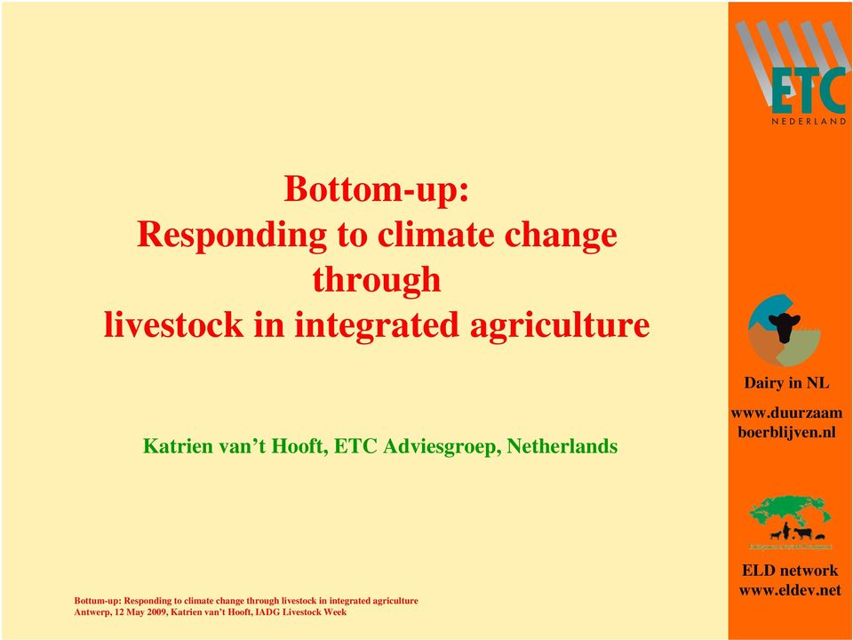 integrated agriculture Katrien