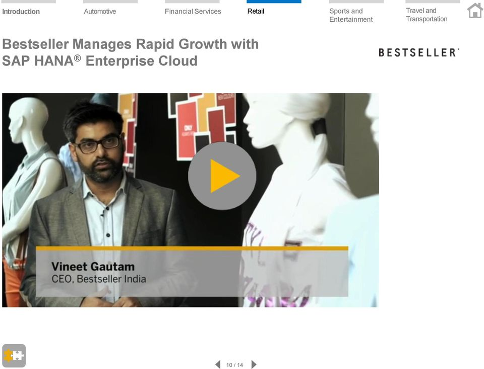 Growth with SAP