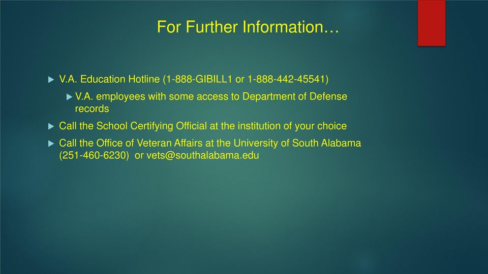 employees with some access to Department of Defense records Call the School