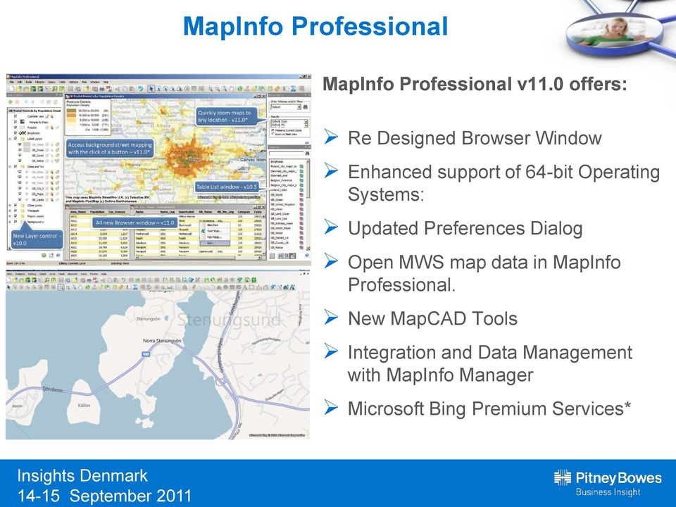 Systems: Updated Preferences Dialog Open MWS map data in MapInfo