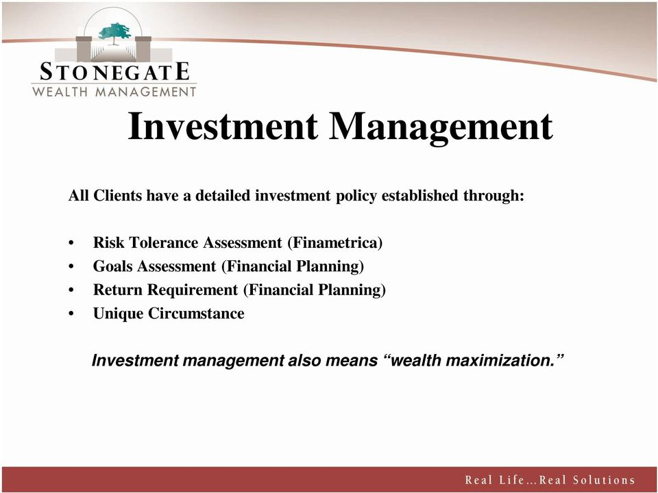 Assessment (Financial Planning) Return Requirement (Financial