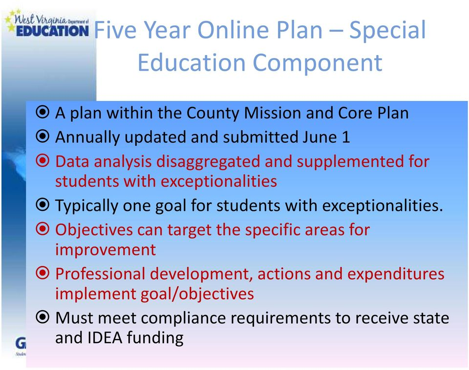 special education components Reference where you can find supplementary advice for completing specific components of the edtpa special education handbook focuses on the teaching and learning.