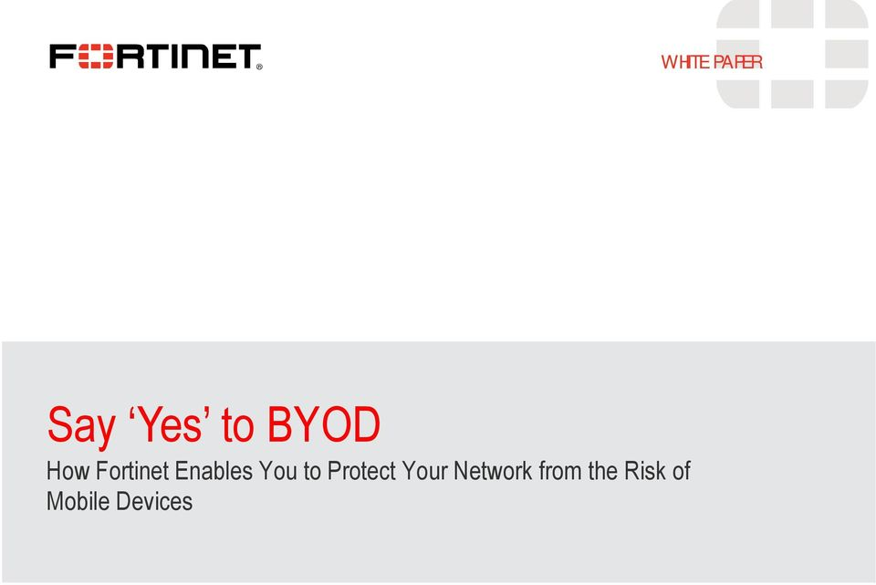 Protect Your Network from