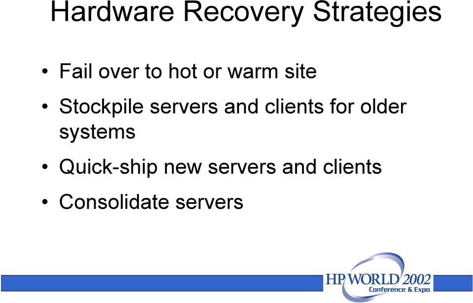 and clients for older systems Quick-ship