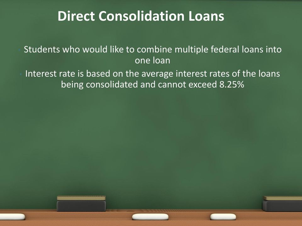 Interest rate is based on the average interest