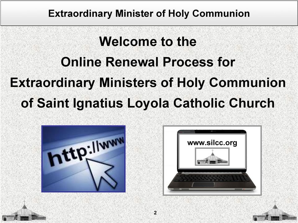Ministers of Holy Communion of