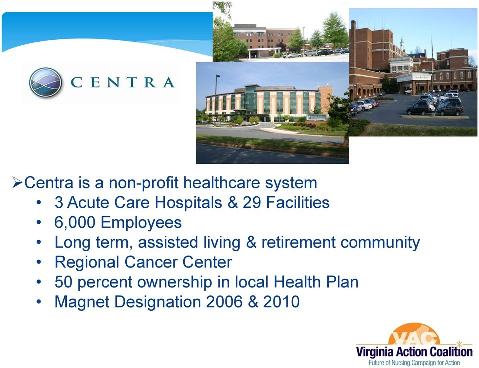 assisted living & retirement community Regional Cancer