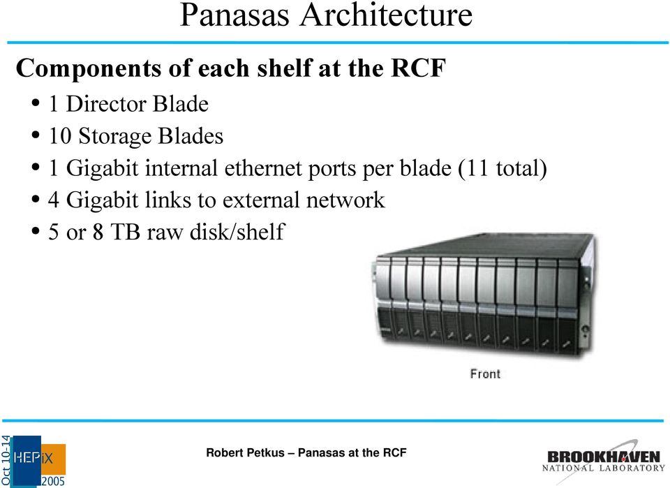 Gigabit internal ethernet ports per blade (11