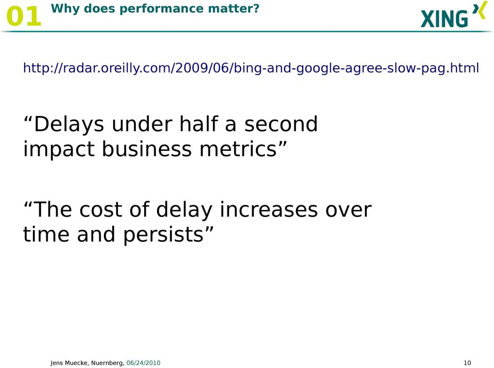 html Delays under half a second impact business metrics The
