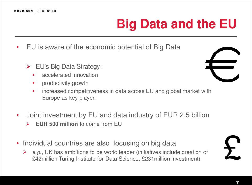 Joint investment by EU and data industry of EUR 2.
