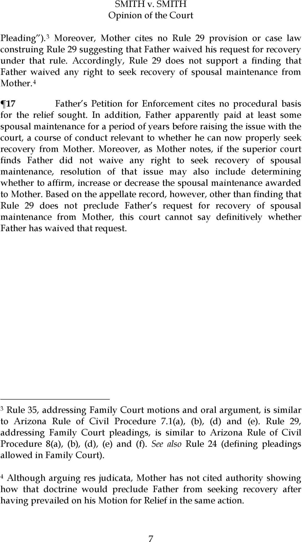 4 17 Father s Petition for Enforcement cites no procedural basis for the relief sought.