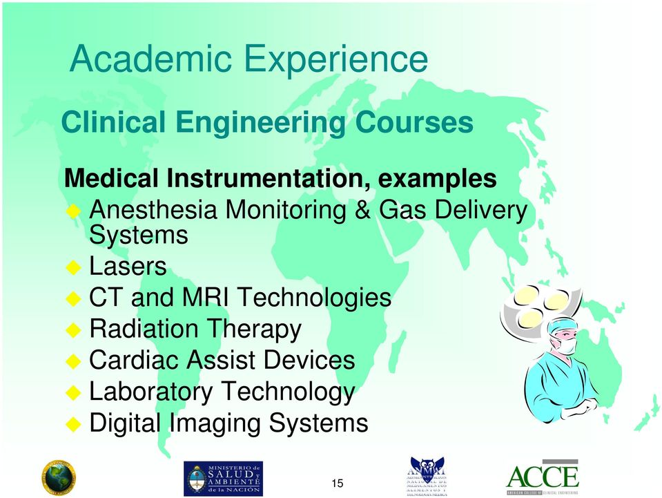 Delivery Systems Lasers CT and MRI Technologies Radiation