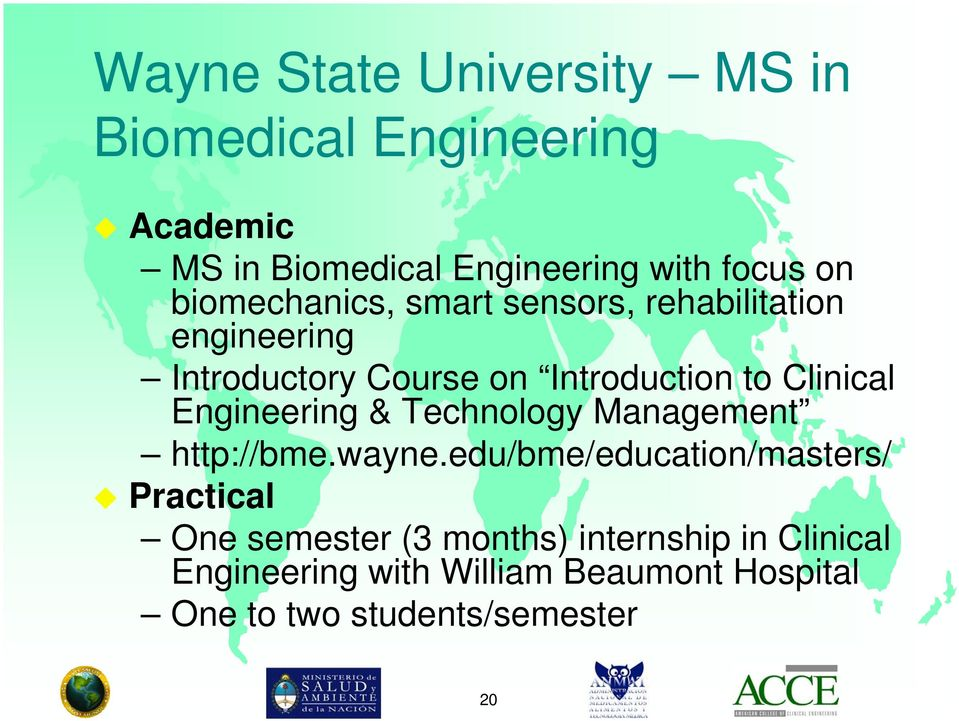 Engineering & Technology Management http://bme.wayne.