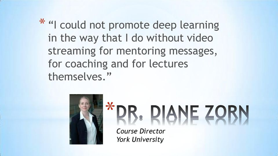 mentoring messages, for coaching and for