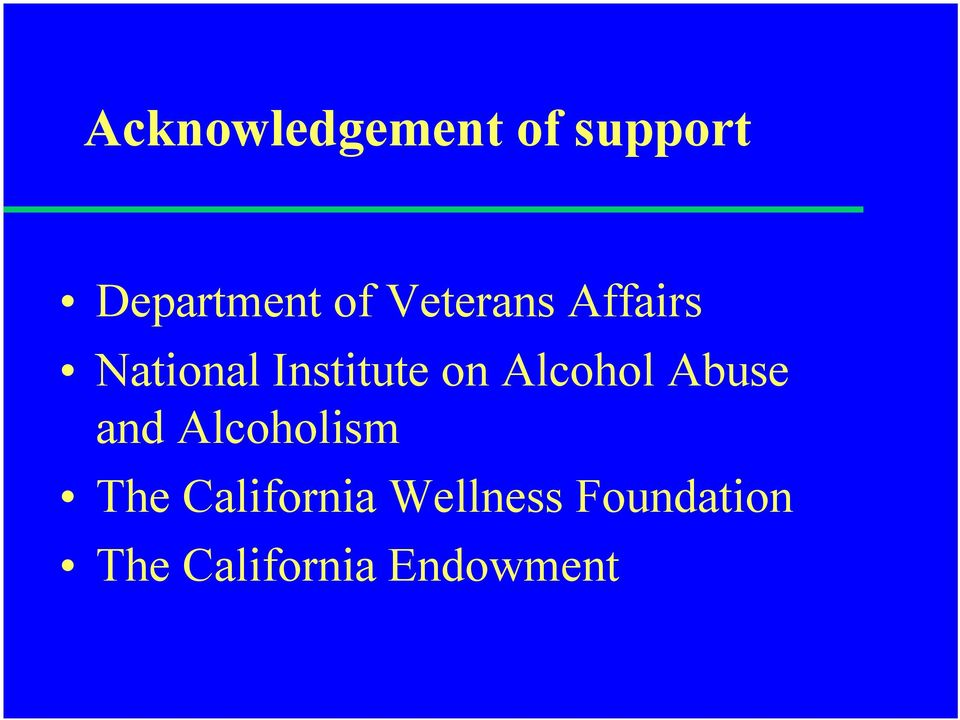 Alcohol Abuse and Alcoholism The