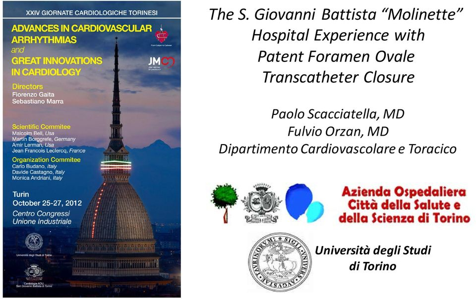 Patent Foramen Ovale Transcatheter Closure Paolo