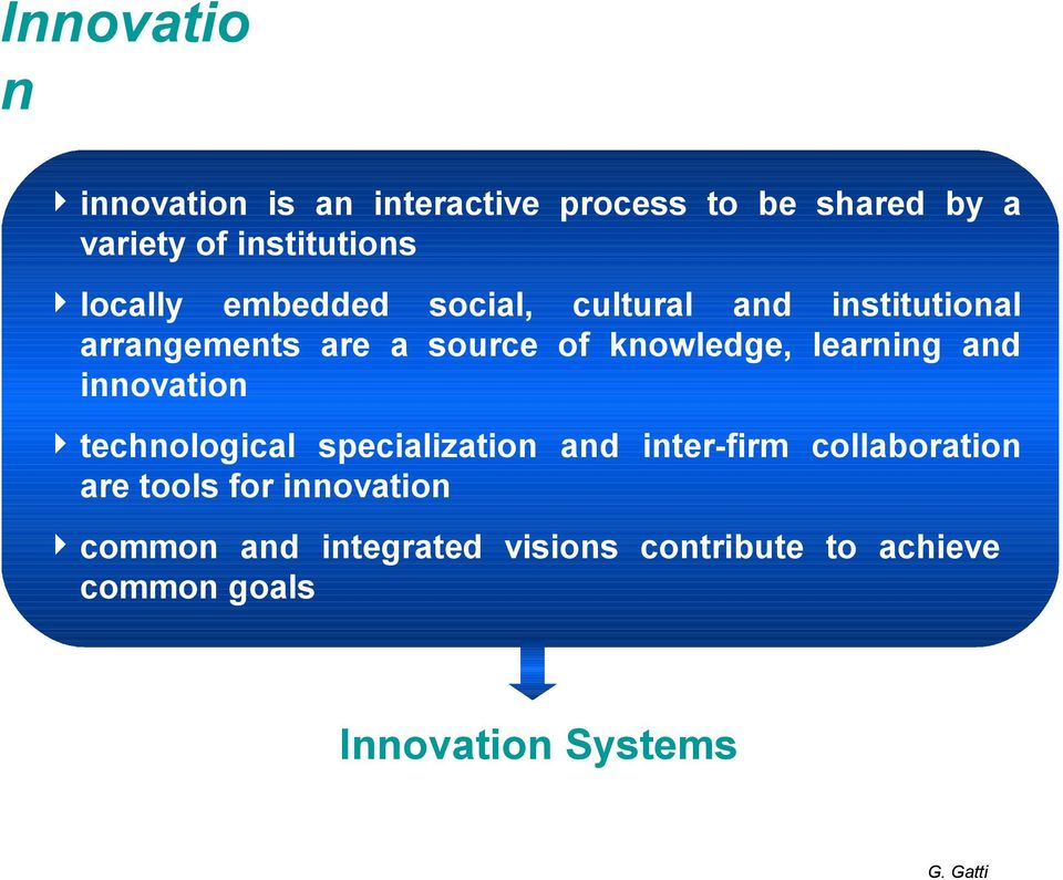 learning and innovation technological specialization and inter-firm collaboration are tools for