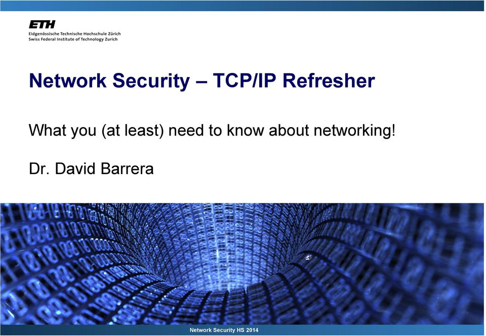 need to know about networking!