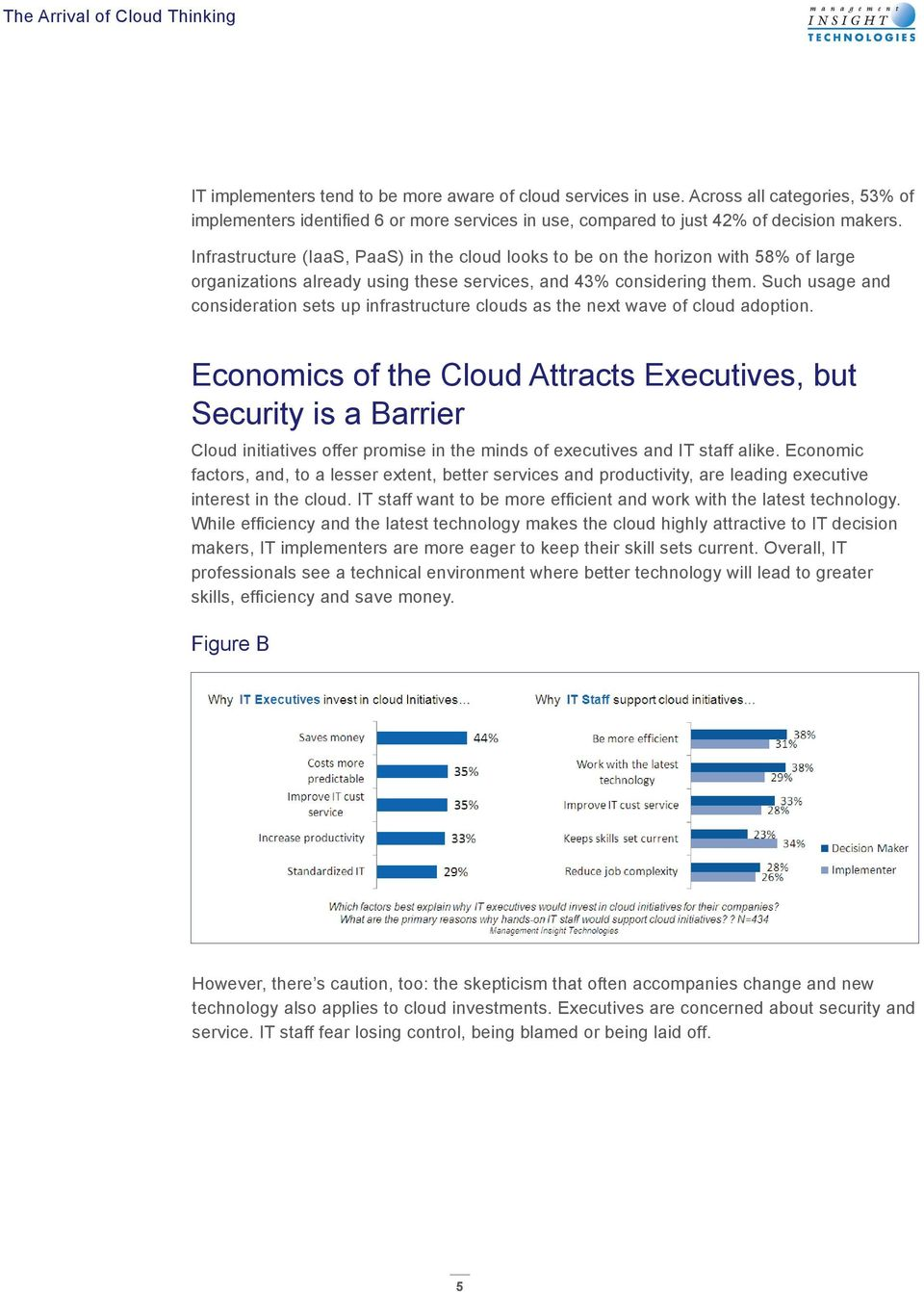Such usage and consideration sets up infrastructure clouds as the next wave of cloud adoption.