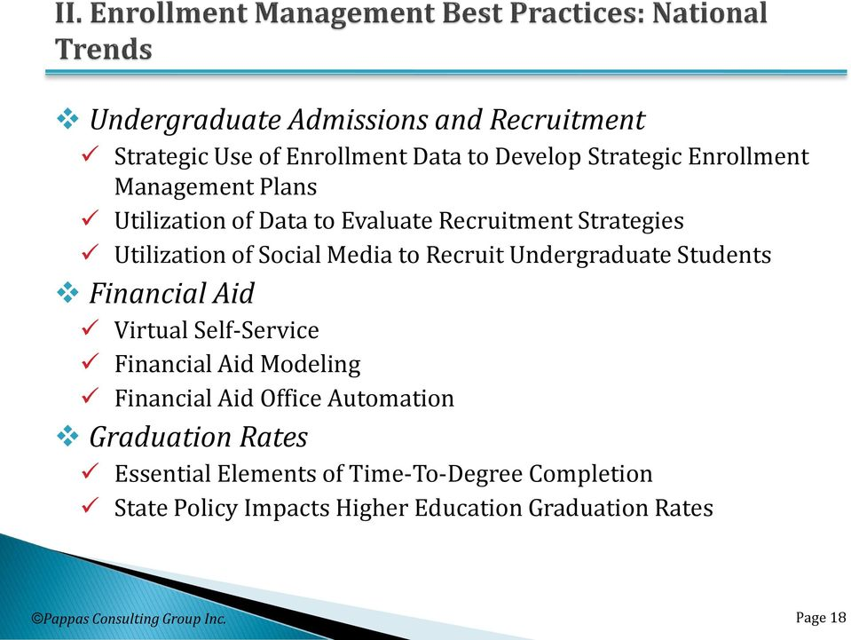 Students Financial Aid Virtual Self-Service Financial Aid Modeling Financial Aid Office Automation Graduation Rates