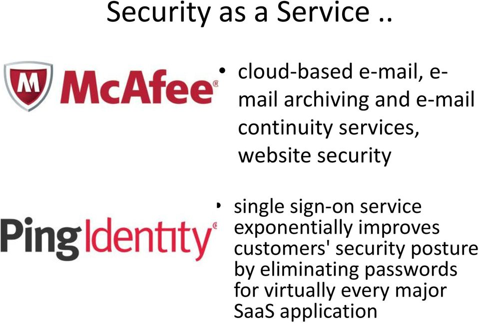 services, website security single sign-on service