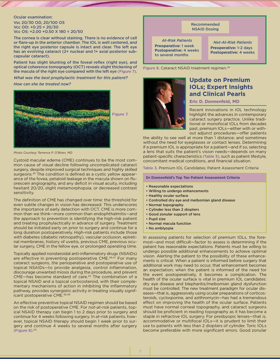 managing cataract risks and improving surgical outcomes pdf the left eye has an evolving cataract 2 nuclear and 1 axial posterior
