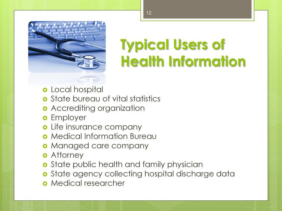 Information Bureau Managed care company Attorney State public health and