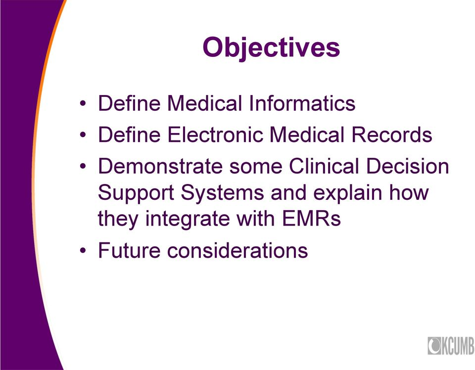 Clinical Decision Support Systems and explain