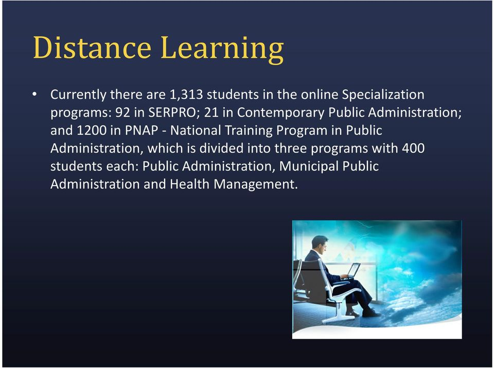-National Training Program in Public Administration, which is divided into three