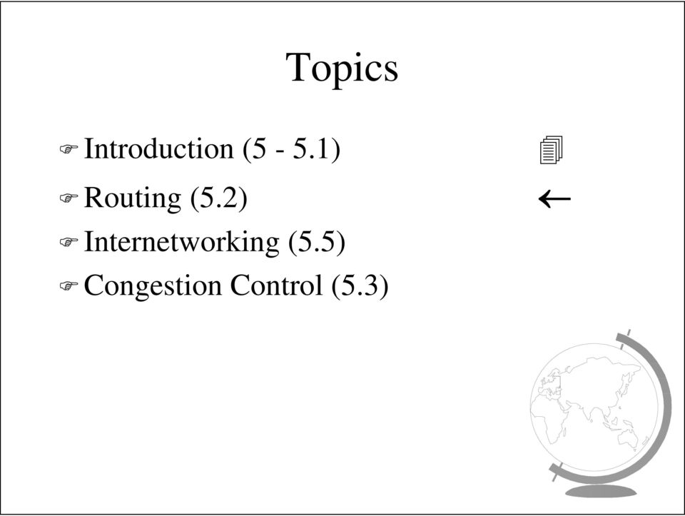 2) Internetworking (5.