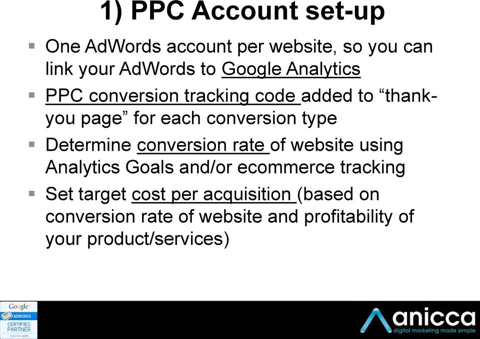 Determine conversion rate of website using Analytics Goals and/or ecommerce tracking Set