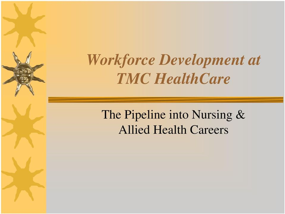 Pipeline into Nursing