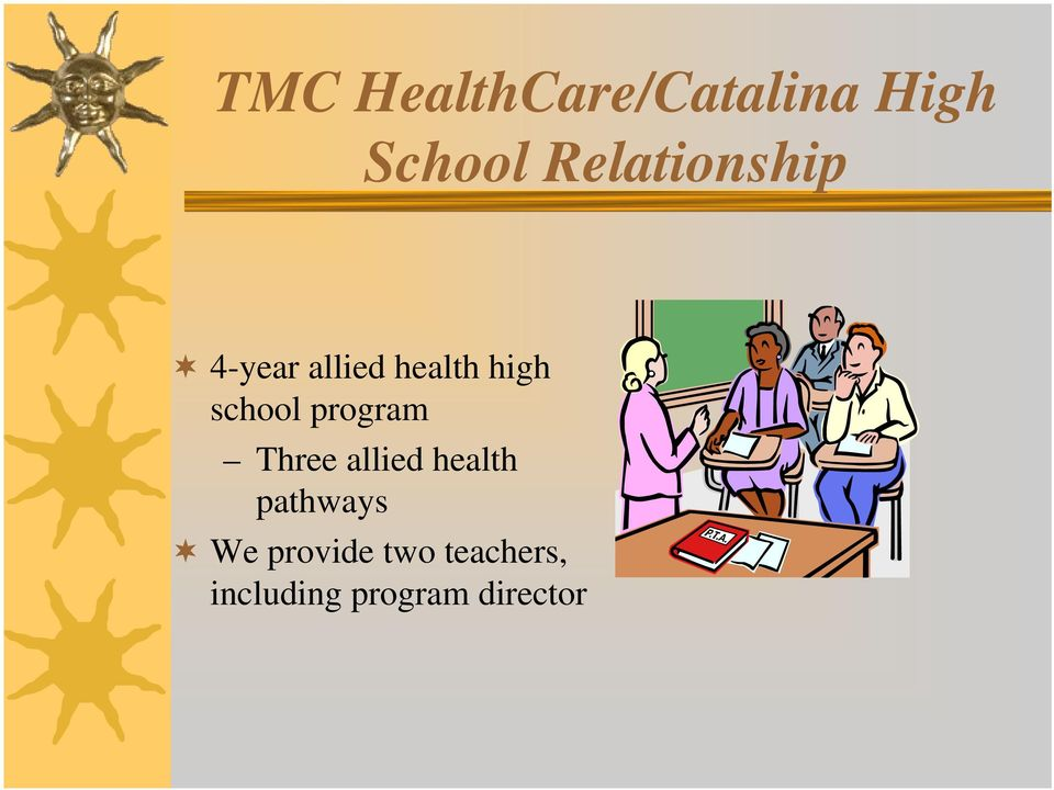 school program Three allied health