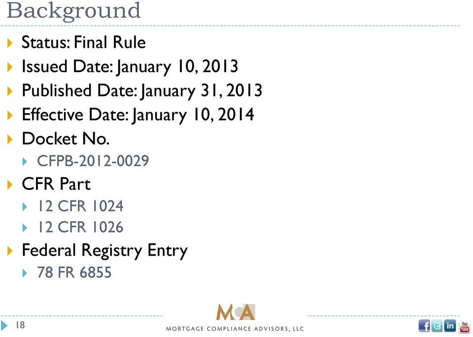 January 10, 2014 Docket No.