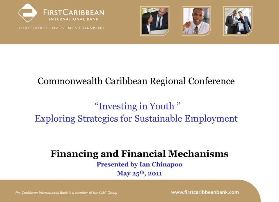 Sustainable Employment Financing and Financial