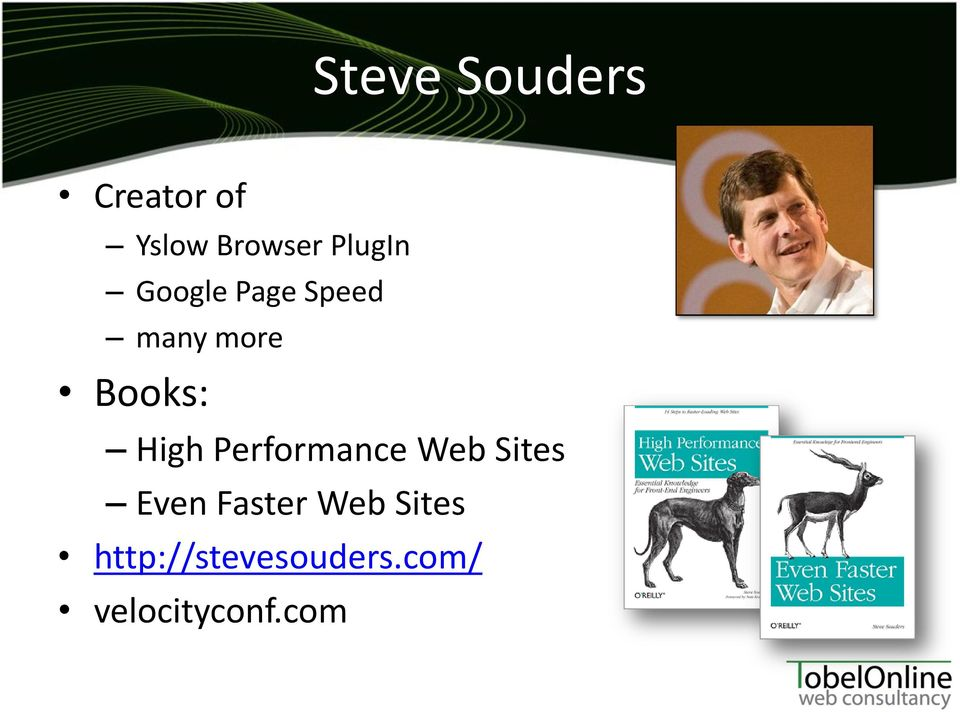 High Performance Web Sites Even Faster Web