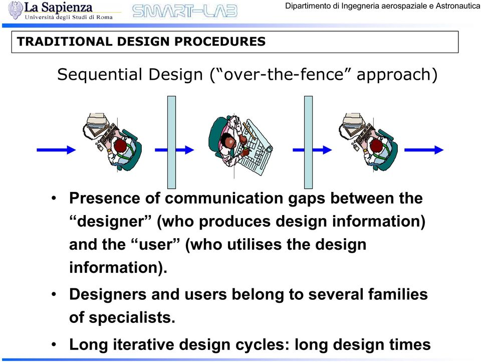 information) and the user (who utilises the design information).