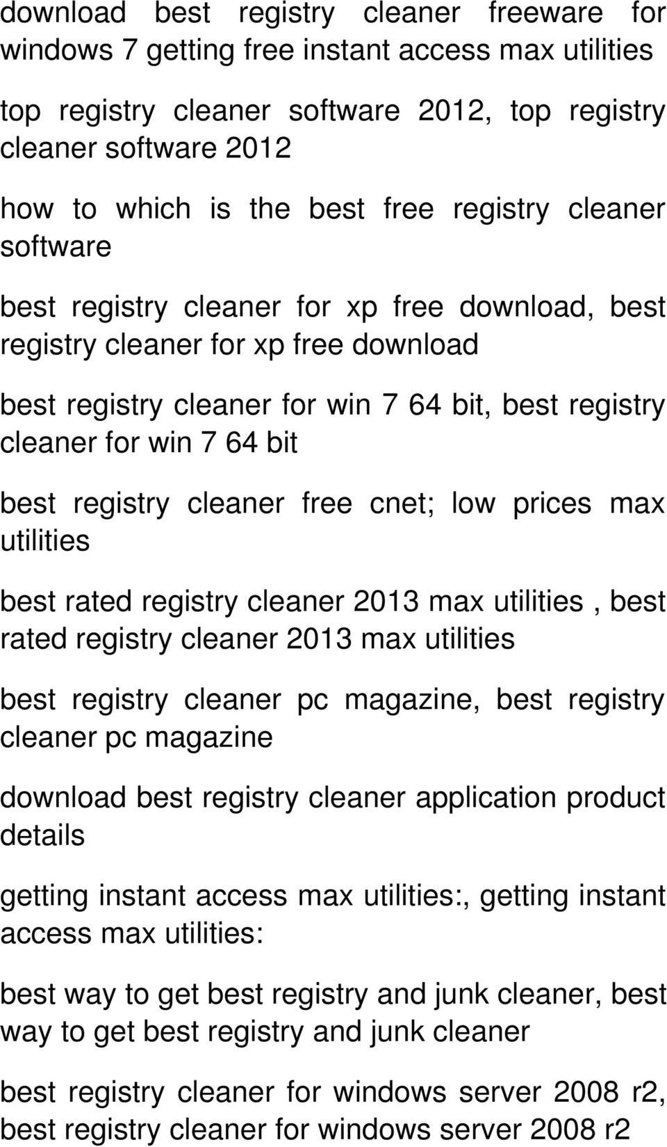 pc cleaner free download for windows 7 64 bit
