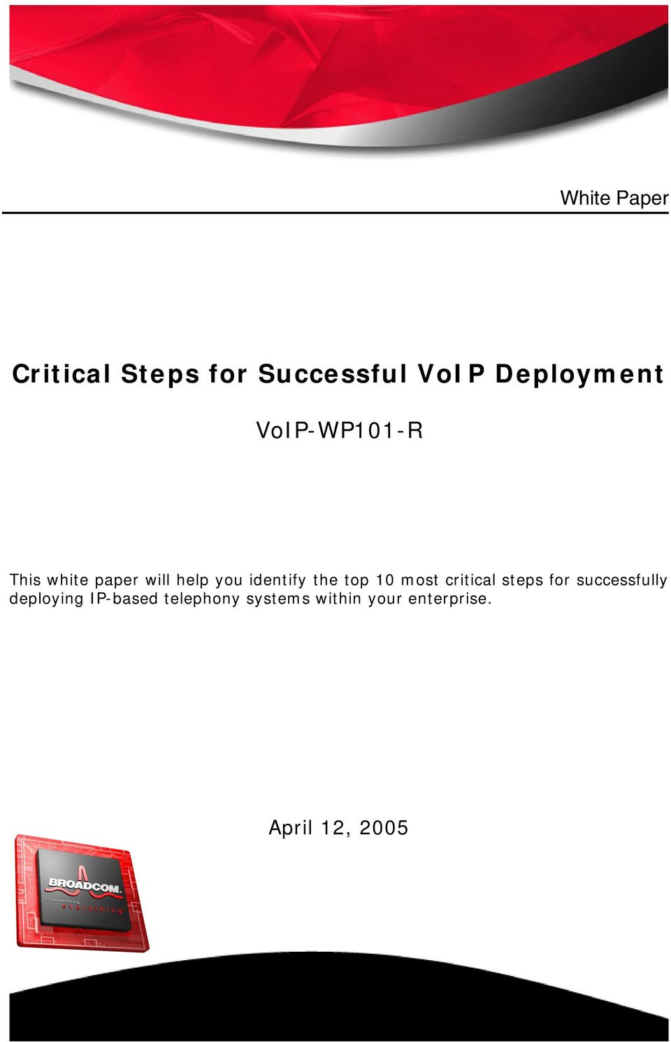 top 10 most critical steps for successfully deploying