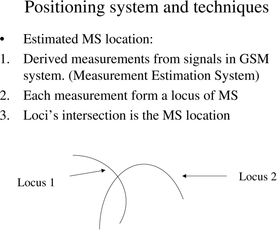 (Measurement Estimation System) 2.