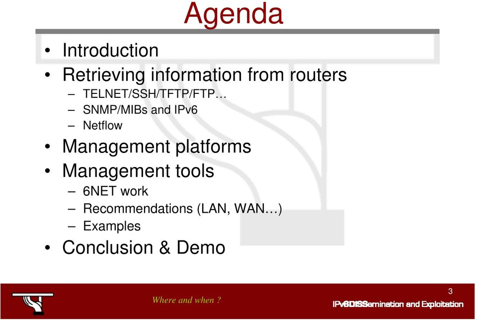 Netflow Management platforms Management tools 6NET
