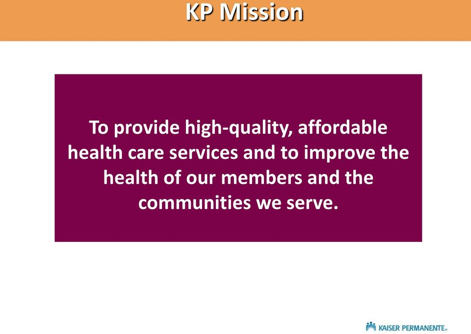 care services and to improve the